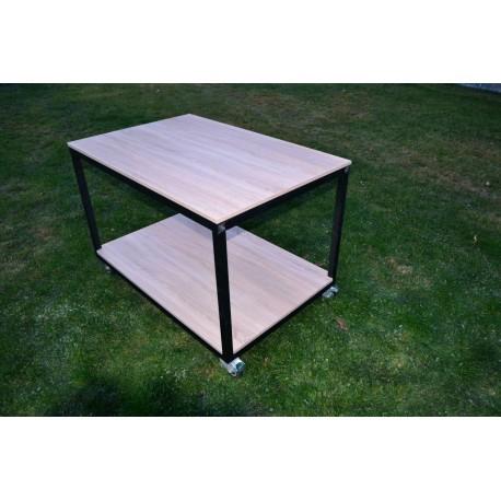Pojízdný stůl s kolečky