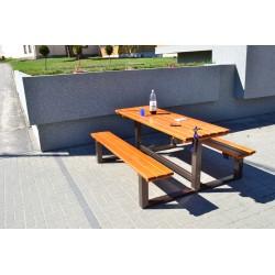 Kovovová stololavice Mamut