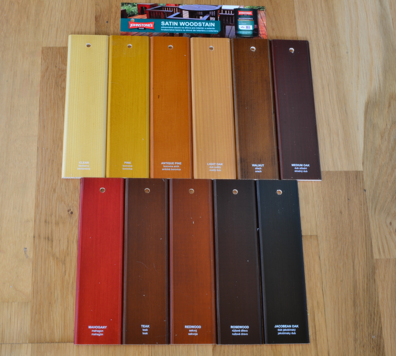 Vzorník barev Johnstones